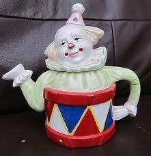 Clown Teapot