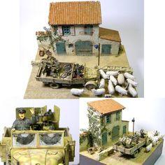"""Sheep Happens"" by Modeler Tomek Rojek 1:35 Scale From: Pinnacle Scale Models #dio #ovelhas #sheep #dioramas #diorama #soldiers #soldados #udk #usinadoskits #miniatura #miniatur #miniature #scale #modelscale #scaleworld #plastimodelismo #hobby"
