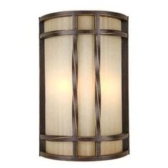 For extra livingroom light without another lamp. Portfolio�7-7/8-in W 2-Light Antique Bronze Pocket Wall Sconce