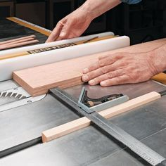 Quick Tip for Thin Strips | Woodsmith Tips -why didn't I think of this?
