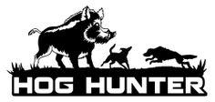 Hog Hunting Decal,hog hunter,hog dogging,boar hunter,feral hog,bay,catch dog
