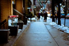 yorkville february by under the influence of dub, via Flickr Under The Influence, Toronto, February, Spaces