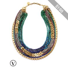 Stella & Dot Utopia Statement Necklace