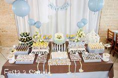 decoração mesa festa infantil passarinho