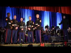 "▶ ""Misty Mountains Cold"" from The Hobbit, live by the Third Marine Aircraft Wing Band - YouTube"