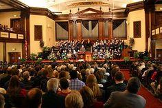 Hughes Auditorium, Asbury University Best acoustics to sing God's praises in!