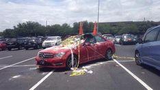If you park like an a**hole, karma will get ya (22 Photos)