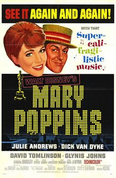 Mary Poppins (1964) starring Julie Andrews and Dick van Dyke one of my favourite films and I know all the words!