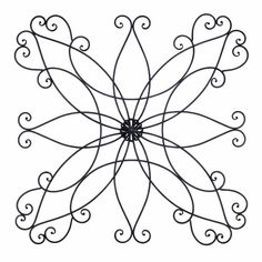 found it at wayfair wrought iron scroll wall decor - Wrought Iron Wall Designs