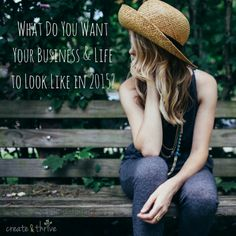 What Do You Want Your Business & Life to Look Like in 2015? | Create & Thrive