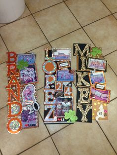too cute decorations! perfect for a homecoming week gift for a senior player or cheerleader! Football Locker Signs, Volleyball Locker Decorations, Locker Room Decorations, Sports Locker, Diy Locker, Locker Ideas, Football Decor, Football Stuff, Homecoming Spirit Week