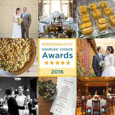 We are super excited to have earned the @weddingwire Couples' Choice award for 2016! Huge thanks to all of our 2015 couples who wrote reviews - it was an honor to be a part of each of your weddings!