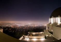 los angeles from griffith park observatory  my all-time favorite place to visit. My family had outings here when I was young.  My first date was here when I was 16. I've introduced my kids to the wonder of it. I'm looking forward to going back soon!