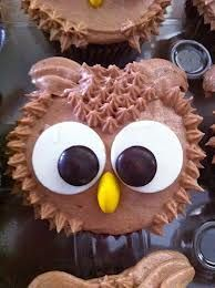 Owl  Cupcakes #cupcakes #cupcakeideas #cupcakerecipes #food #yummy #sweet #delicious #cupcake