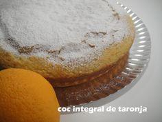 Integral Orange Cake - Coc de taronja integral - no tot són postres... a la cuina