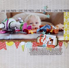 Adorable layout by Nicole S. with Studio Calico stuff