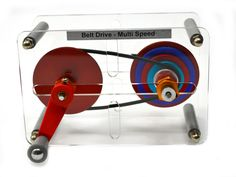 Belt drive-multispeed
