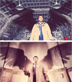 """Castiel...  """"I hold it true that thoughts are things, endowed with bodies, breath and wings."""" - Ella Wheeler Wilcox"""