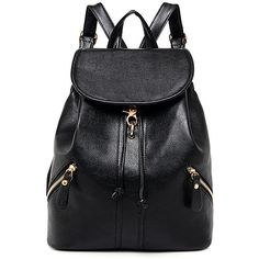 Shop for Zippers PU Leather Drawstring Backpack at ZAFUL. Free Shipping And Affordable Prices.