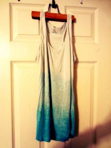 DIY Ombre clothing