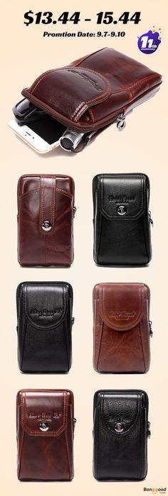 c317e913d6f5 US 13.44 ~ 15.44 + Free Shipping. Men Phone Bag