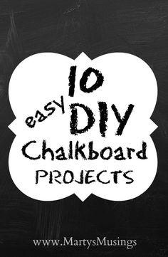 Chalkboard paint ide