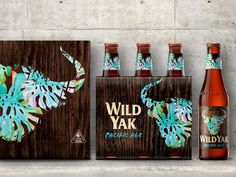 Yak Ales Redesign on Packaging of the World - Creative Package Design Gallery