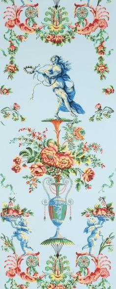 Adelphi Custom and Historic Wallpapers     Locust Grove Arabesque   colorway B