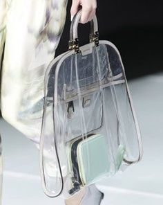f7e117fa295 7 Best Clear Handbags images
