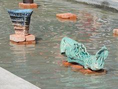 ARTEMISJA - Galeria sztuk wszelakich: 9. Warszawskie Spotkania Ceramiczne - relacja z wystawy na wodzie