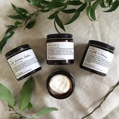Whipped Body Butter #naturalskincare #greenbeauty