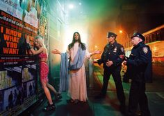 Intervention, Jesus is my Homeboy Series, by David LaChapelle | 2003 | Digital C Print
