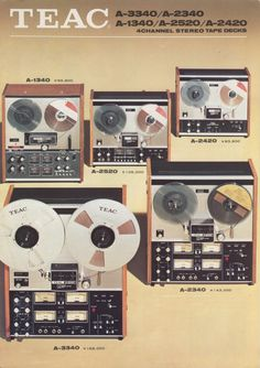 TEAC 1972  - www.remix-numerisation.fr - Rendez vos souvenirs durables ! - Sauvegarde - Transfert - Copie - Digitalisation - Restauration de bande magnétique Audio - MiniDisc - Cassette Audio et Cassette VHS - VHSC - SVHSC - Video8 - Hi8 - Digital8 - MiniDv - Laserdisc - Bobine fil d'acier - Micro-cassette - Digitalisation audio - Elcaset