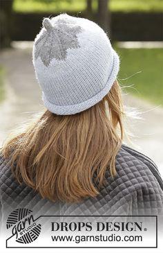 Ravelry: Frosty Berry pattern by DROPS design Knitting Gauge, Knitting Stitches, Knitting Patterns Free, Free Knitting, Drops Design, Magazine Drops, Aran Weight Yarn, Langer Mantel, Yarn Stash