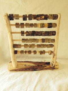 Handmade Wooden Abacus $48.00. https://www.etsy.com/au/shop/TreebranchKids?ref=hdr_shop_menu
