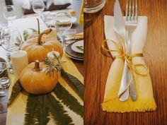 Dale color a tus servilletas. DIY Tutorial para crear servilletas con degradado de color, con tinte y acabado con flequillito.