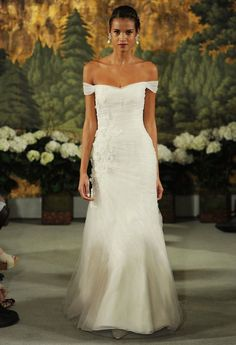 10 Romantic Off The Shoulder Wedding Dresses | Bridal Musings Wedding Blog 4