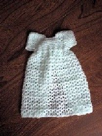 CUDDLES Crocheted Burial Gown
