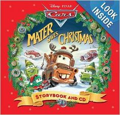 Disney Mater Saves Christmas Read-Along Storybook and CD Christmas Books For Kids, Christmas Pictures, Christmas Letters, Disney Christmas, Christmas Ideas, Cool Gifts For Kids, Disney Pixar Cars, Disney Merchandise, Radiator Springs