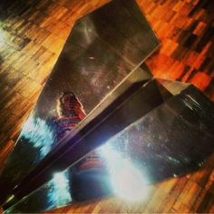 this is a #sculpture #selfie #plane #paperplane #metal #instagram #Mexico #DF follow @MKSkyton