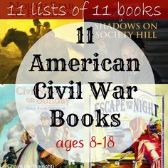 """This is part of a series called11 Lists of 11 Books.Civil War on Sunday (Magic Tree House Series) by Mary Pope Osborne- fiction  In this well-known series, Jack and Annie travel back in time - this time to the American Civil War! There, they meet famed nurse Clara Barton and help wounded stories!   Who was Harriet Tubman? - biography About the level of the Magic Tree House, """"Who was"""" is a series of biographies of notable people in history. ..."""