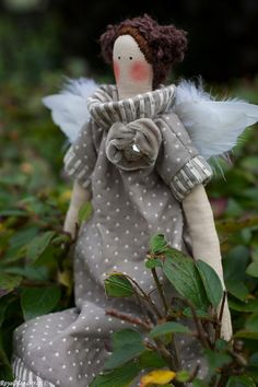 Angel Doll Tilda Vintage Limited Edition by RoyalHandicrafts