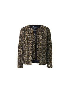 Pelagia bouclé knit jacket - # Q56238003 - By Malene Birger Autumn Winter 2014 - Women's fashion