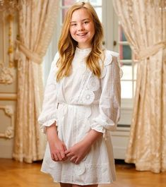 Dutch Princess Ariane celebrates her 14th birthday today