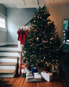 """arrowfolk: """"I love this little house of ours ✨🎄 (at Clintonville, Columbus, Ohio) """""""