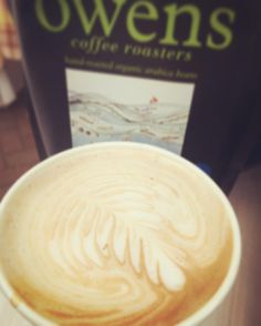 Our Swiss Water decaf is getting wonderful compliments today #crema #fresh #swisswaterprocess #decaf #natural #organic