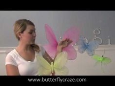 @Kayla Barkett Barkett Matsumoto I was googling butterflies and thought this was you at first. You could sooo do this with your tutu's and such. It goes right along. :0)