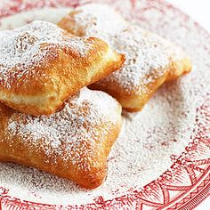 Beignets! I've wanted to try these ever since Tiana made them in The Princess and the Frog...
