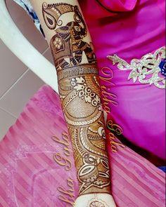 Latest Mehendi Designs for Hands & Legs - Happy Shappy Peacock Mehndi Designs, Mehndi Designs 2018, Mehndi Patterns, Wedding Mehndi Designs, Mehandi Designs, Leg Mehndi, Legs Mehndi Design, Mehndi Design Pictures, Mehndi Images