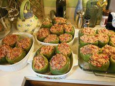 Stuffed Bell Peppers - Gluten Free Freezer Meals